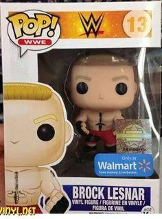 WWE Brock Lesnar Walmart Exclusive POP Vinyl
