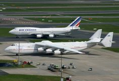 AN 225 and Boeing 747. So HOW is it, that the World's Largest Aircraft was built  in RUSSIA?!!?