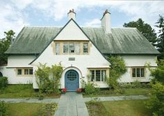 Holly Mount by American Vintage Home, via Flickr (C.F.A. Voysey)