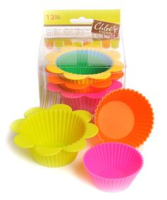 Loving this Silicone Baking Cup Set on #zulily! #zulilyfinds