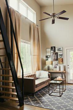 Elegant Modern Eclectic Loft | Downtown Fayetteville, Arkansas Apartment