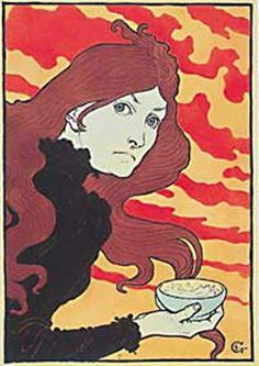 La Vitrioleuse 1894 Eugéne Grasset