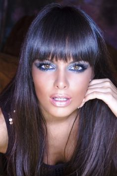 Stunning blue eyes makeup - Your own fashion