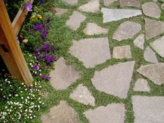 Repurposed and Recycled Concrete -- I want to do this w/my old patio!