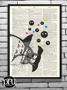 Hey, I found this really awesome Etsy listing at https://www.etsy.com/listing/114769791/its-raining-soot-sprites-studio-ghibli
