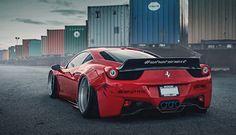 誰能比我「趴」?SR Auto打造法拉利《Ferrari 458 Italia》Liberty Walk寬體式樣| 國王車訊 KingAutos