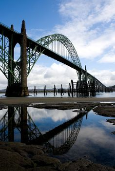 Yaquina Bay Bridge, Newport Oregon