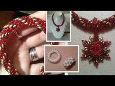 Superduo Spiral and a Toggle Clasp Beading Tutorial by HoneyBeads1 - YouTube