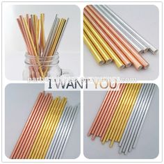 New Design Rose Gold/silver/ Gold Foil Paper Straw In Shimmering Style For Wedding Decoration , Find Complete Details about New Design Rose Gold/silver/ Gold Foil Paper Straw In Shimmering Style For Wedding Decoration,Rose Gold Paper Straw,Decorative Drinking Straws,Foil Gold Paper Straws from -Xiamen Palmy Import & Export Co., Ltd. Supplier or Manufacturer on Alibaba.com