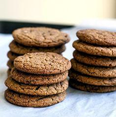 Molasses Cookies | Girl Gone Gourmet