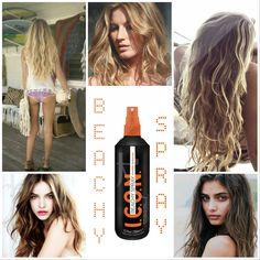 Buergiorno per la matina amiguitas!! #FelizJueves!!Hoy queremos destacar nuestro producto estrella de este veranito! ICON BEACHY SPRAY para conseguir unas ondas surferas que además de proporcionar un look playero chulísimo HIDRATA, PROTEGE Y REPARA tu cabello en profundidad! Con vitaminas B5, A y E mantendrá tu pelo y cuero cabelludo saníiiisimos. Consíguelo al mejor precio haciendo click aquí