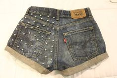 DIY: Studded Shorts :: Blake Von D