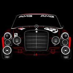 Mercedes 300 SEL by Tony Pierce