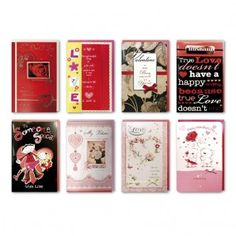 Large handmade Valentine's day cards from Paper Craft
