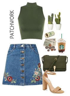 """""""sOUL"""" by hipster-bohemian ❤ liked on Polyvore featuring Miss Selfridge, Elizabeth and James, Steve Madden, WearAll and patchwork"""