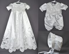 woman who turns wedding dresses into baptism gowns.