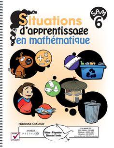 Ces situations d'apprentissage en mathématique aideront les élèves à développer une méthode de travail et des stratégies de plus en plus efficaces lors de résolution de problèmes plus complexes.