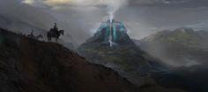 Fortress of Winds, Robin Blicker on ArtStation at https://www.artstation.com/artwork/o08Nm
