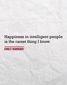 The rarest thing in intelligent people