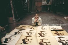 """""""The idea is not to live forever, it is to create something that will."""" Andy Warhol."""