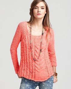 Free People Hot Tottie Pullover