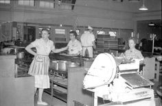 knotts berry farm in the 1960s | Knott's Berry Farm kitchen, 1960