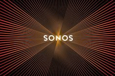 Sonos logo design by Bruce Mau Design pulses like a speaker