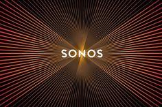 Sonos logo design by Bruce Mau Design pulses like a speaker