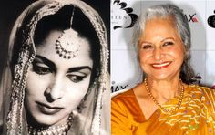 Yesteryear #Bollywood #Actresses then and Now - Waheeda Rehman