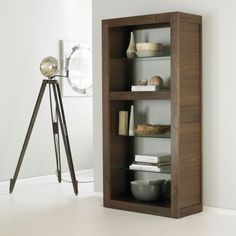 Bentley Designs Akita Walnut Open Display Unit - Style Our Home