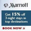 Marriott 15Percent Off Coupon!