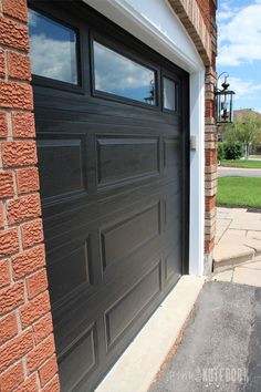 Garage Doors With Red Brick House Google Search New