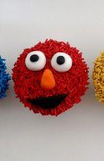 elmo birthday party ideas elmo cupcakes