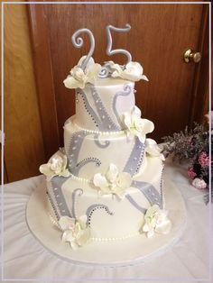 A 25th to Remember Specialty Cake