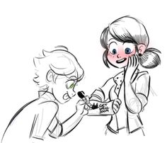 Aww u adrien...aww ...hmm..wait..did u put a cat noir in that?...well...idk...<3