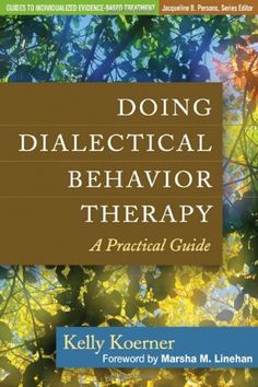 Filled with vivid clinical vignettes and step-by-step descriptions, this book demonstrates the nuts and bolts of dialectical behavior therapy (DBT). DBT is expressly designed for—and shown to be effective with—clients with serious, multiple problems. Coping Skills Activities, Therapy Quotes, Therapy Ideas, List Of Skills, Psychology Books, School Psychology, Dbt, Behavioral Therapy, Science Books