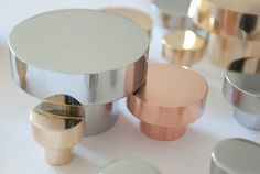 copper furniture knob Bäccman & Berglund Sweden