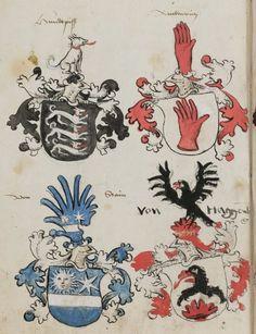 Wappenbuch des St. Galler Abtes Ulrich Rösch Heidelberg 15. Jahrhundert  Cod. Sang. 1084  Folio 335