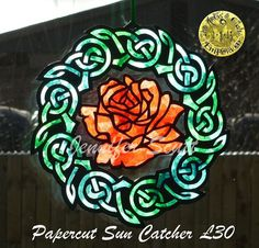 Celtic Rose by Jennifer Scutt https://www.facebook.com/media/set/?set=a.852701888139764.1073741864.664237603652861&type=3