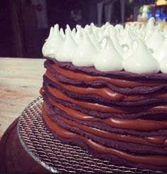 Find images and videos about food, chocolate and cake on We Heart It - the app to get lost in what you love. Dessert Recipes, Desserts, Chocolate, Cakes And More, Food Porn, Healthy Recipes, Sweet, Cacao, Foodies