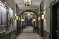 The Gleneagles Hotel - Interior design by Goddard Littlefair