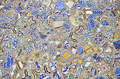 Mosaic Tiles Floor Design