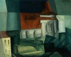 Lyonel Feininger - Zirchow VI, 1916