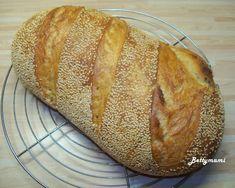 Egyszerű kovászos kenyér – Alaprecept – Betty hobbi konyhája Bread, Food, Drinks, Drinking, Beverages, Brot, Essen, Drink, Baking