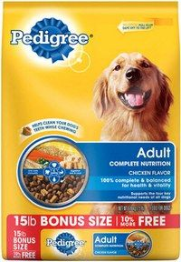 RECALL DATE 8/26/14 Voluntary recall of 15# bags of Pedigree sold to Dollar General stores in #AR #LA #MS #TN  Read more here: http://www.fda.gov/Safety/Recalls/ucm411789.htm