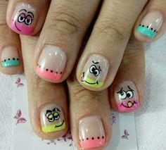 Toe Nails, Pretty Nails, Pedicure, Nail Designs, Hair Beauty, Nail Polish, Nail Art, Work Nails, Little Girl Nails
