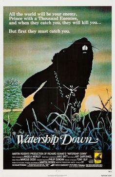 Watership Down (1978) movie #poster, #tshirt, #mousepad, #movieposters2