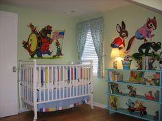 Richard Scarry Little Golden Book Nursery