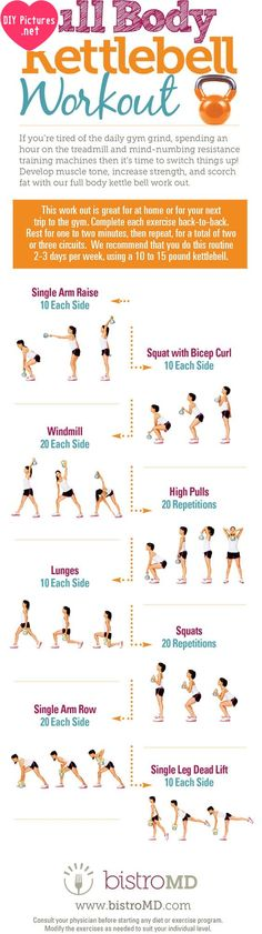 Full Body KB Workout | Posted by: NewHowtoLoseBellyFat.com