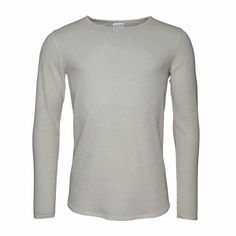 Harbor Light Merino Knitwear Natural White   Vaella Clothes   Wolf & Badger  /  Men / Clothing / Jumpers & Cardigans